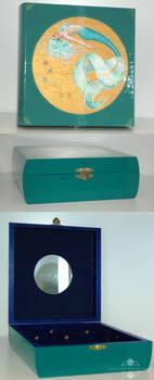 Serenity Hand Painted Mermaid Keepsake Box