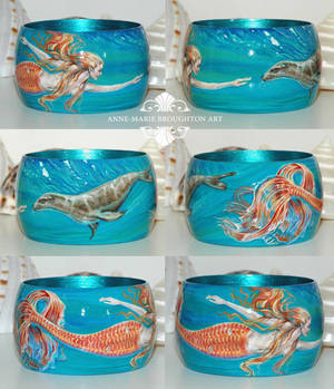 Mermaid and Sealion Bracelet
