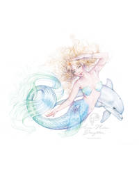 Water Dancer Mermaid full colour by Mocten