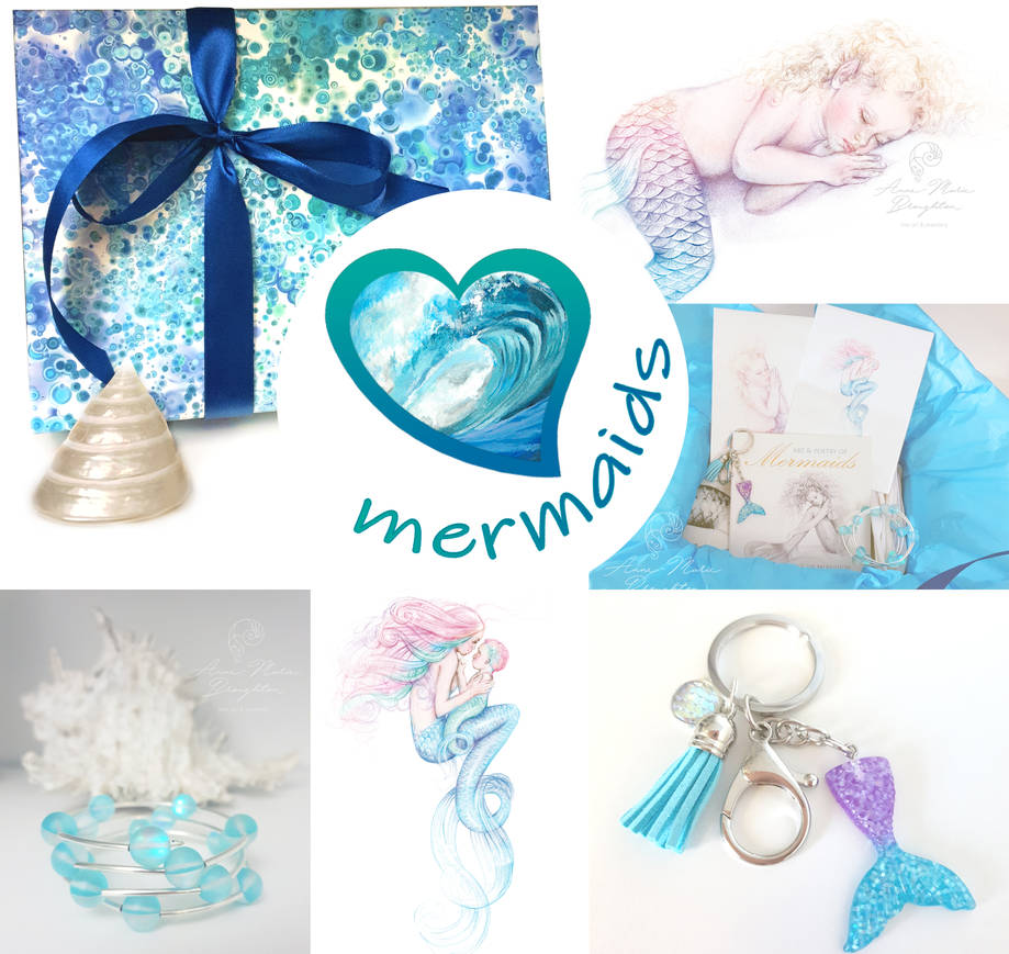LOVE Mermaids Gift Box Bundle by Mocten