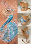 Multiview Mermaid Cuff Bracelet