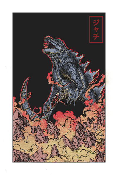 King Of Kaiju Colored by fucdekids