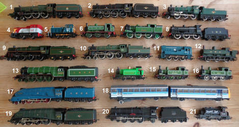 My Collection of Trains by Imp344