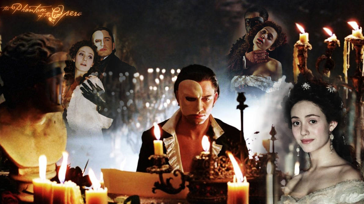 Phantom Of The Opera Wallpaper By Drage3000 On Deviantart