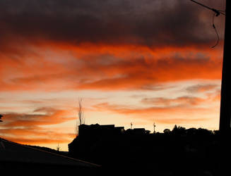 Orange Sunset3 by Grotesque-beauty