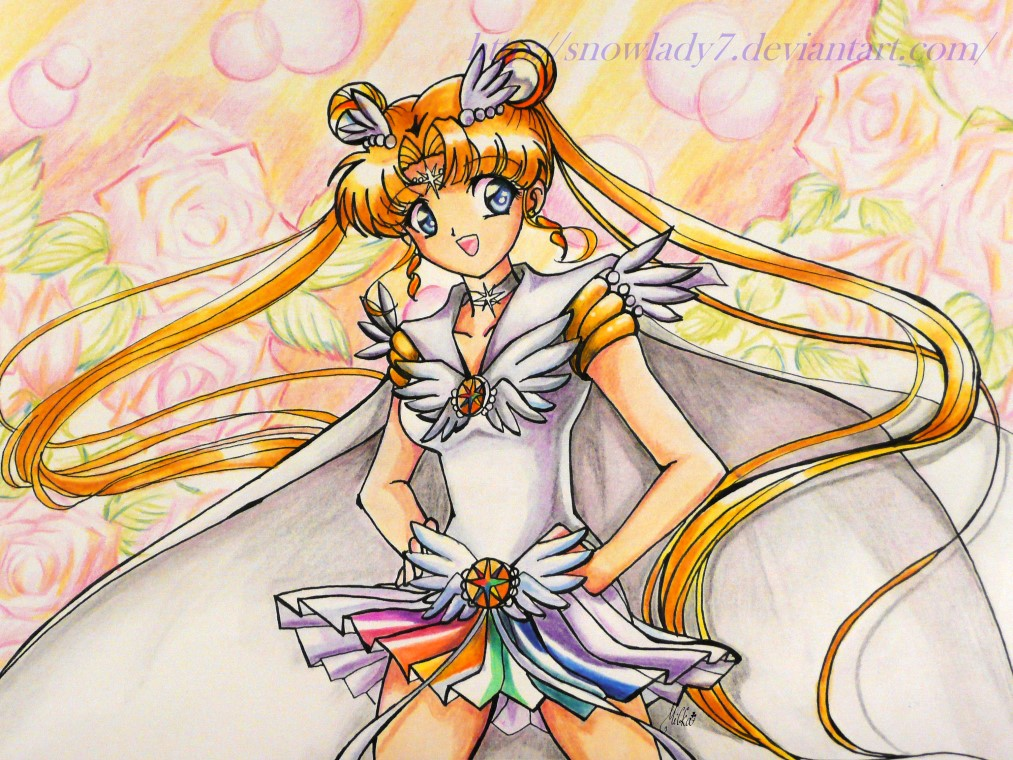 sailor moon cosmos by SnowLady7 on DeviantArt