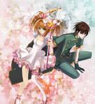 Sakura and Syaoran