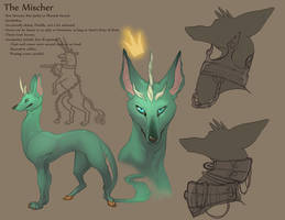 Character Sheet: Mischer by skulldog