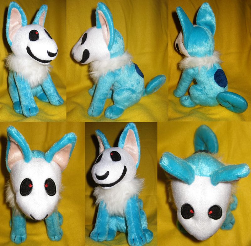 Skulldog Plush: Prototype v2 by skulldog