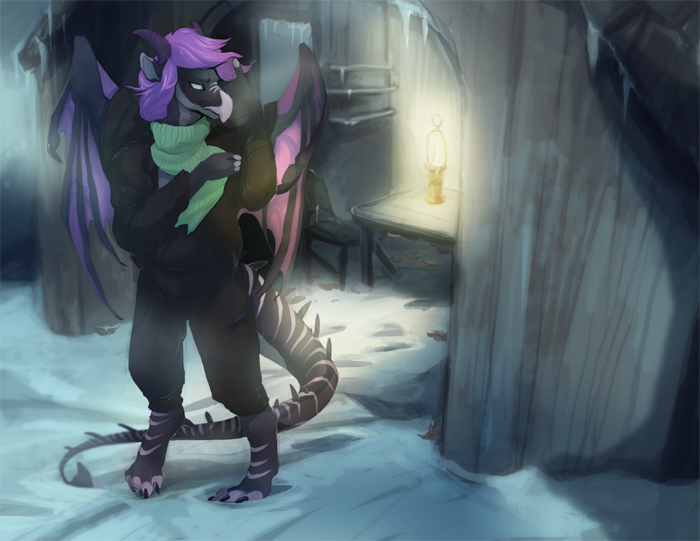 Comm: Cold House by skulldog