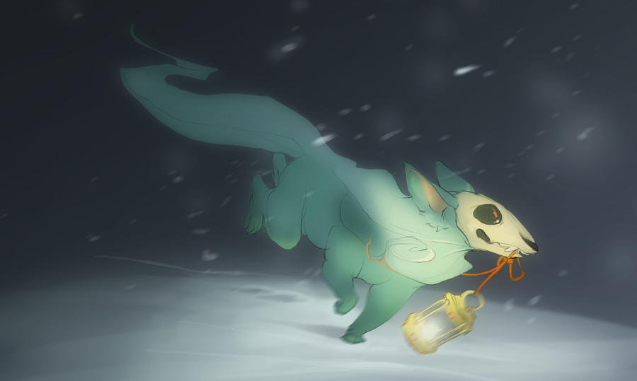 Souls Dashing by skulldog