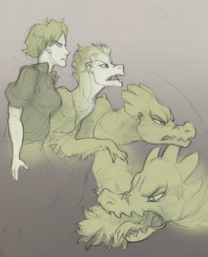 Sketch: The Queen Changes by skulldog