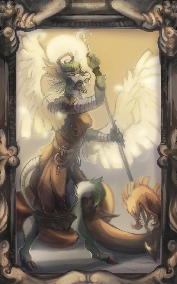 Trade: Golden Arbiter by skulldog