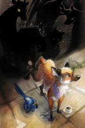 End/City Volume one Cover by skulldog