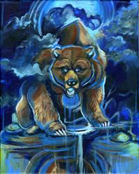 Thunder Bear by skulldog