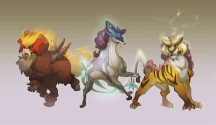 Three Beasts by skulldog