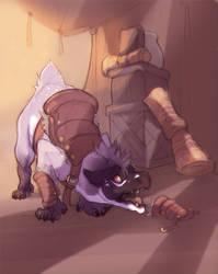 WoR: Playing guard by skulldog