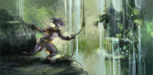 Com: Jungle Trek by skulldog