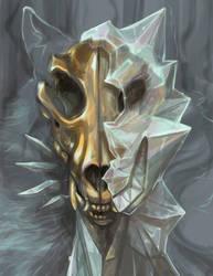 Crystal heart - Wolf by skulldog