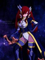 Erza Scarlet by sieggrain