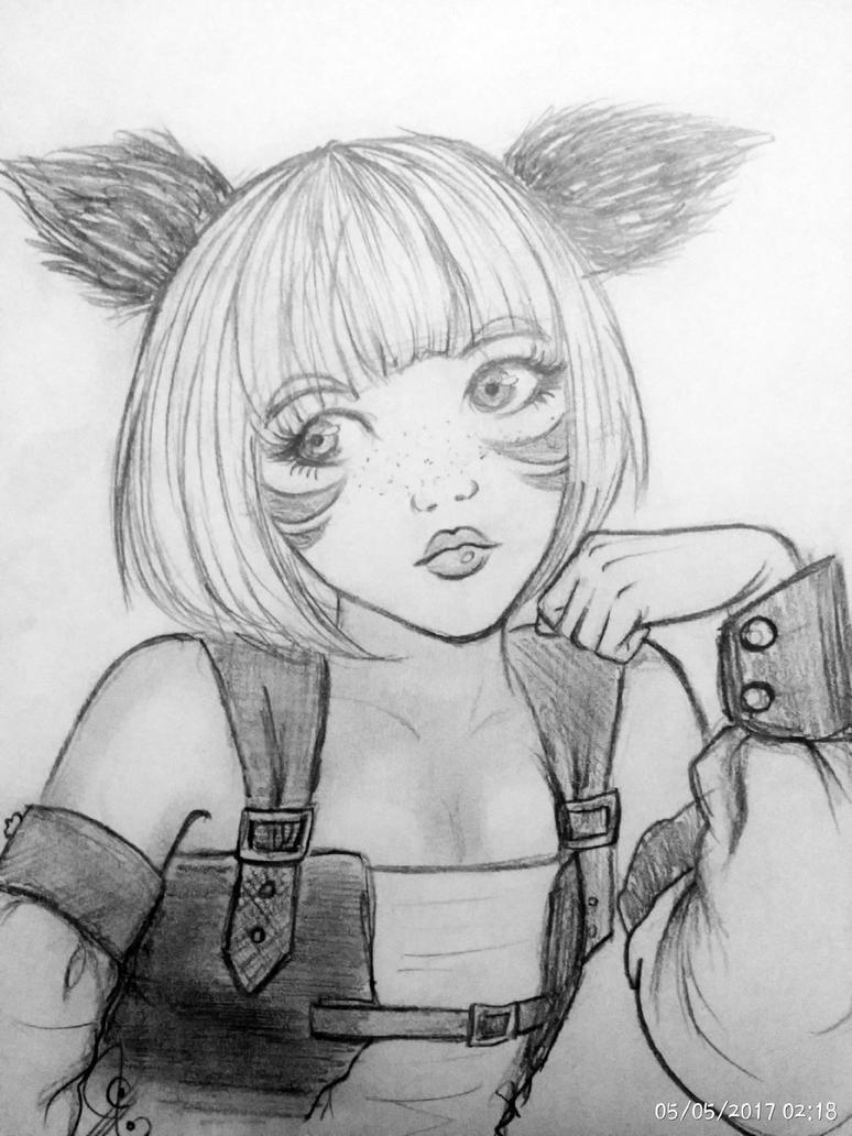 anzujaamu fan-art by nanaaljbour