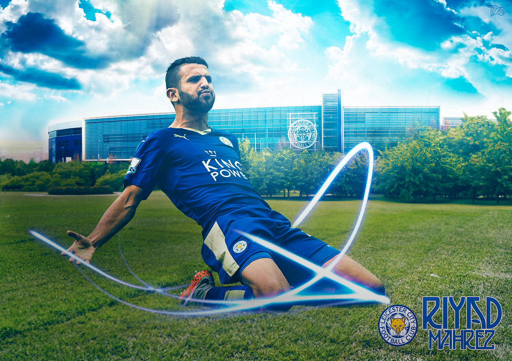 Riyad Mahrez By TxsDesign On DeviantArt