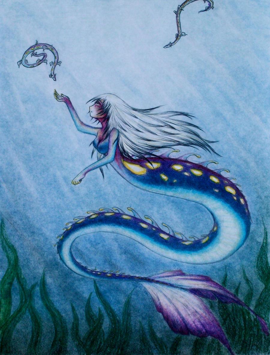 Deep sea mermaid by Sage001 on DeviantArt