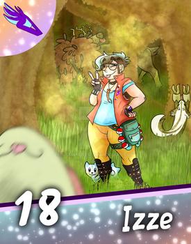 Explorer Izze - League Card