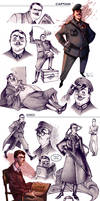 Comic characters concepts 02