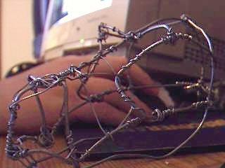 wire dragon head 1 by Dragnar