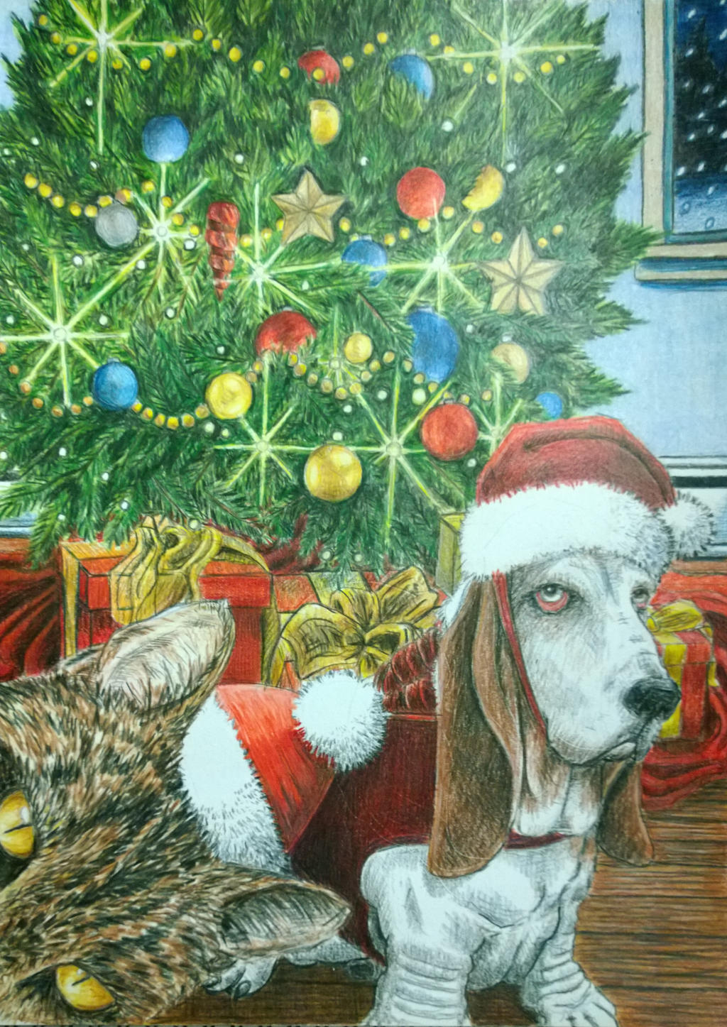 christmas_with_elsie_and_riley_by_markdaniel-d6xix57.jpg