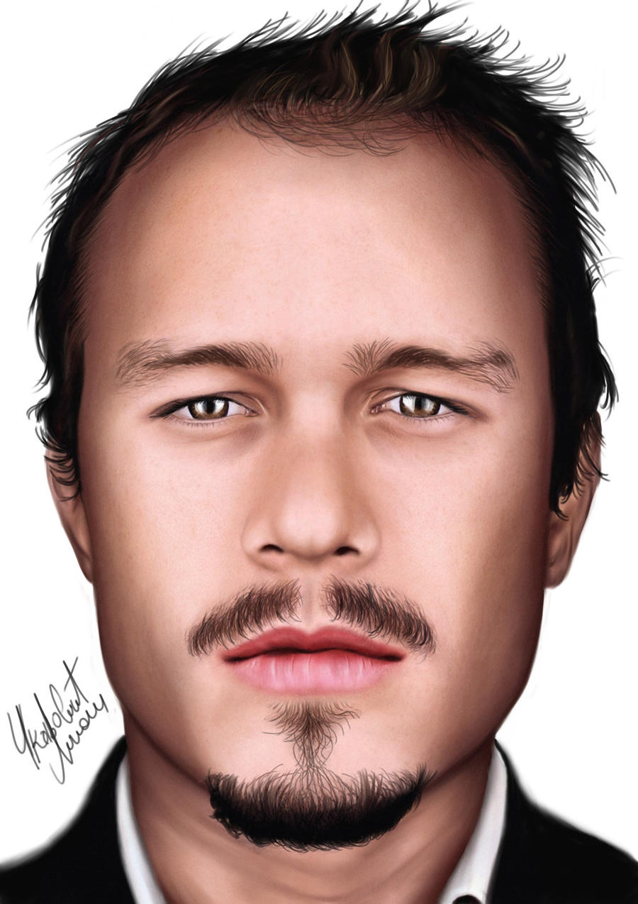 Heath Ledger PS by punisher357