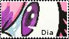 .: Dia Fan Stamp by xCaramel-Galaxy