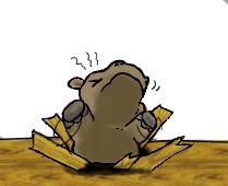 Stuck Hippo by Cathematics