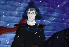 Juge Claude Frollo by black-angel1992