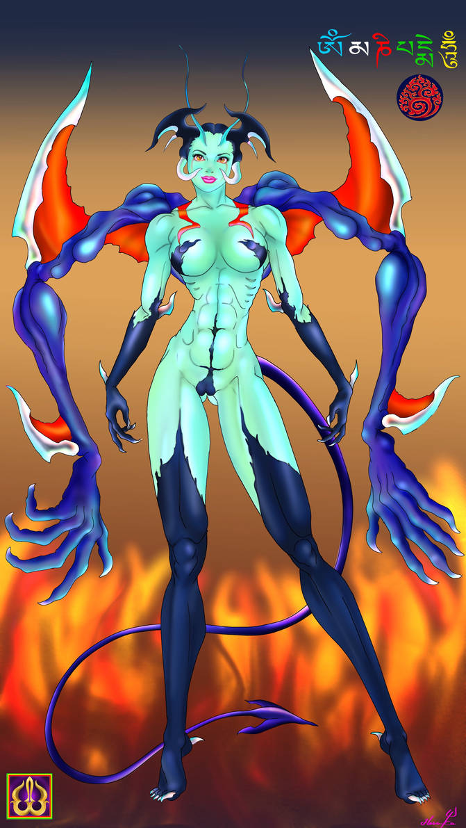 LADY=Devilman by HeruKa-45