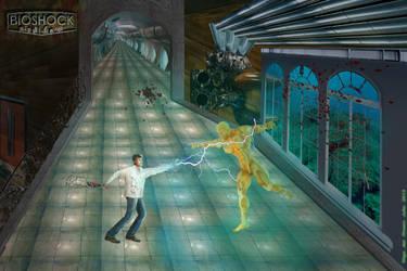 Jack vs Fontaine Bioshock by Malco65