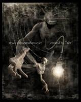 The Hunter in Darkness by Trez-Art