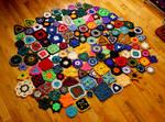 Crochet a Day Week 19 by AndroidBoleyn
