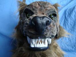 wolf head glam shot by MonstrositiesNZ