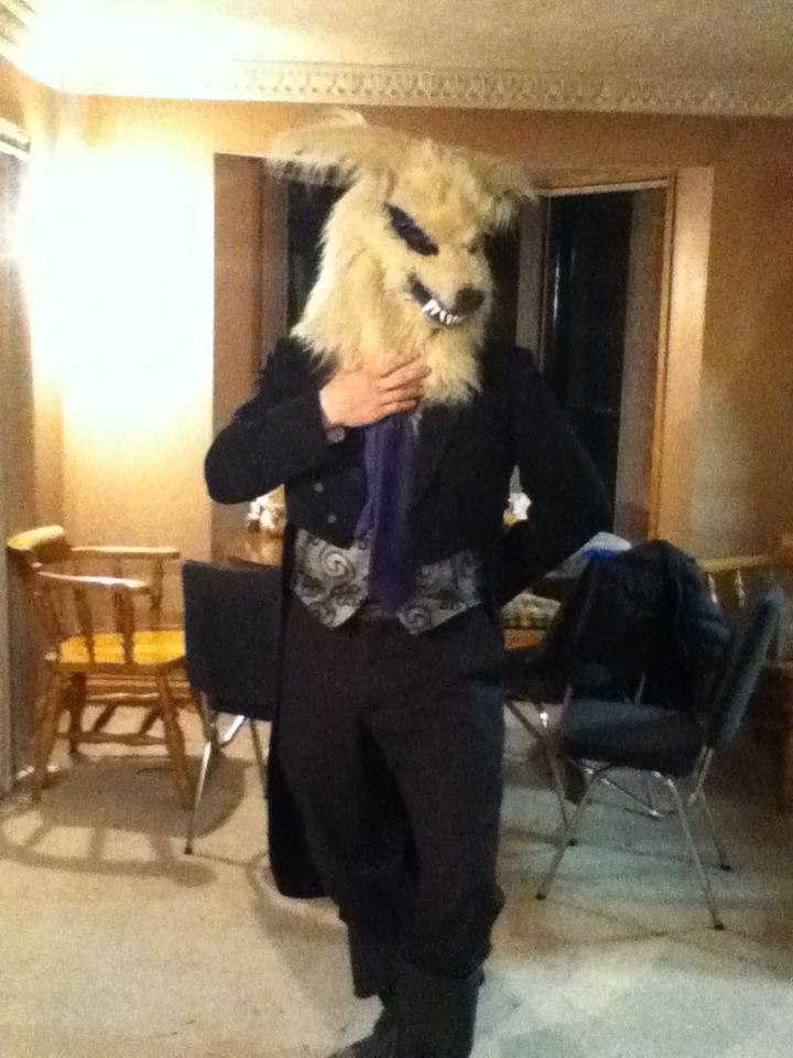 Wolf Gentleman by MonstrositiesNZ
