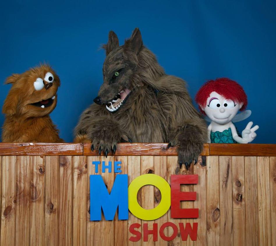 Werewolf visits the Moe Show by MonstrositiesNZ