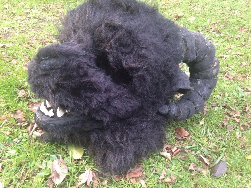 Gruffalo Head by MonstrositiesNZ