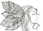 Zentangle by Adelfa3