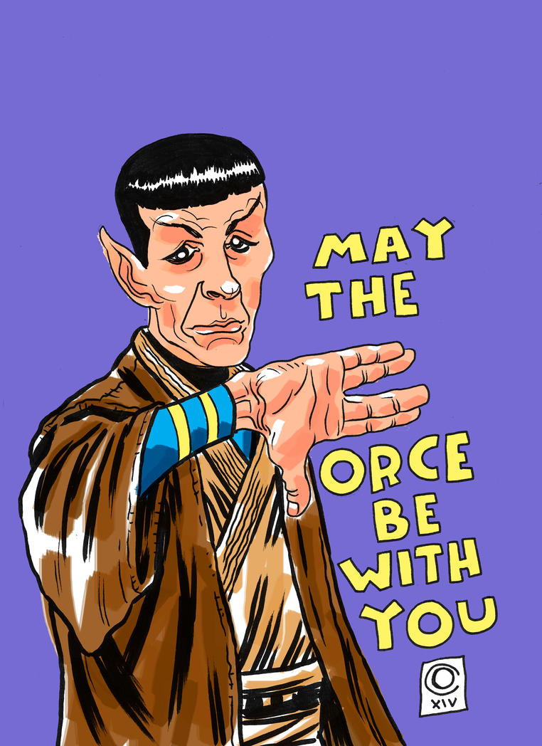Spock Jedi by caiooliveira