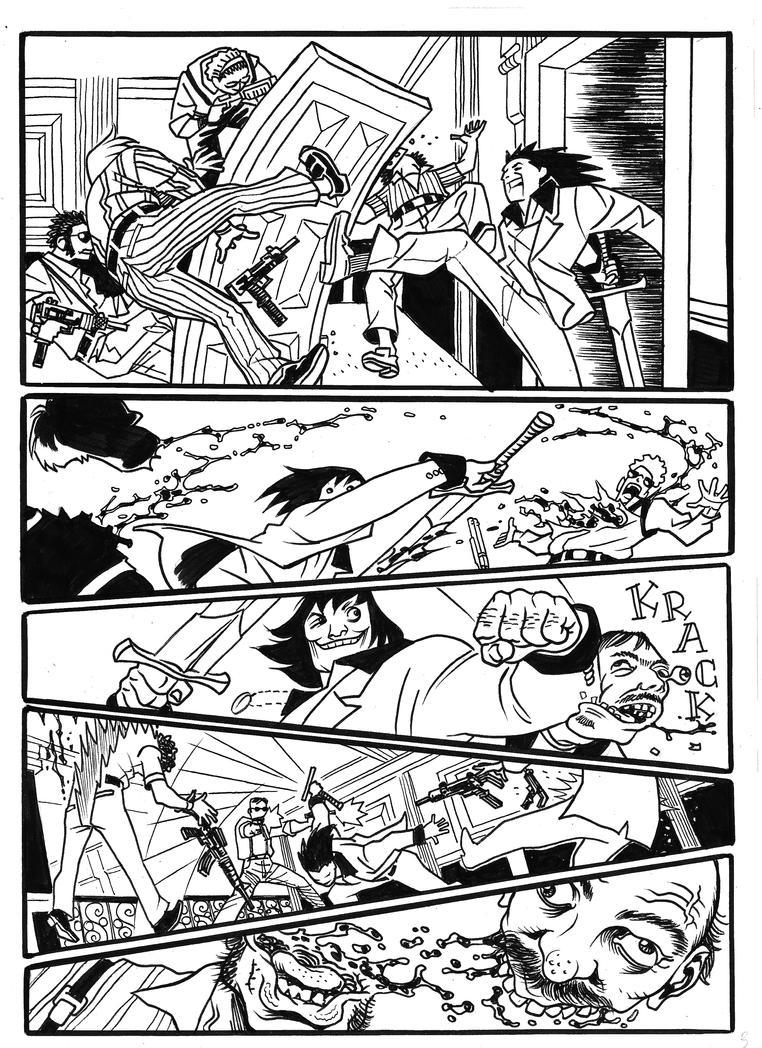 Conan Scarface 3 by caiooliveira