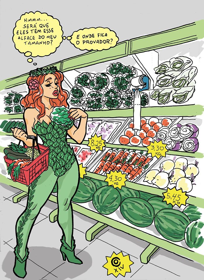poison Ivy buying new clothes by caiooliveira