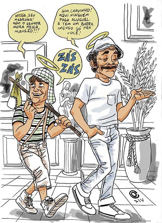 Chaves e Madruga by caiooliveira