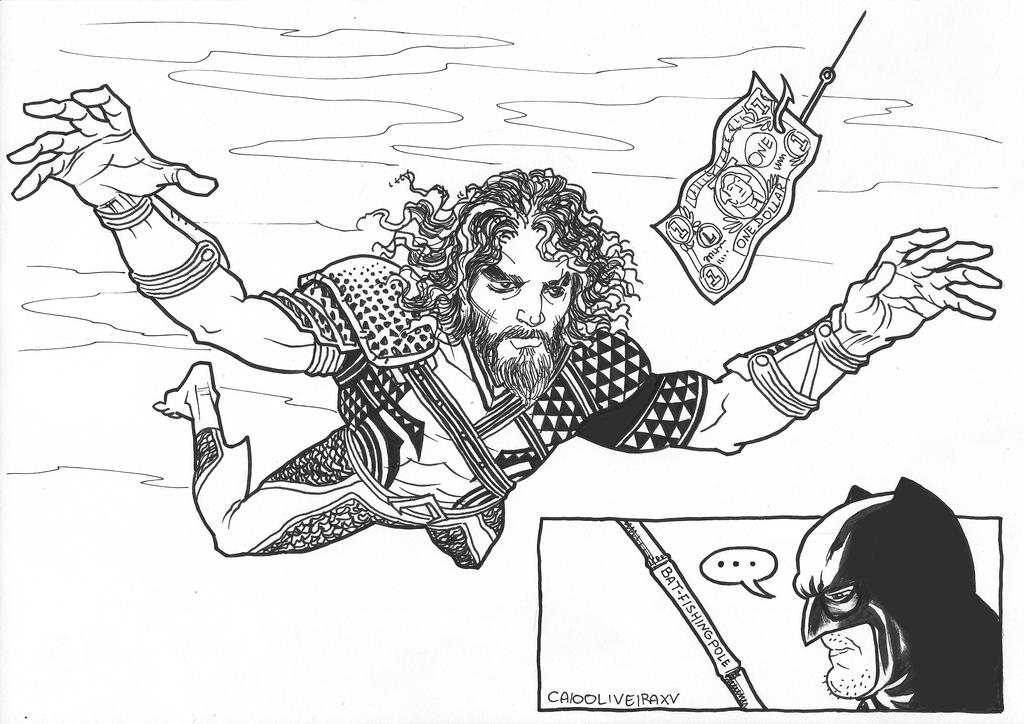 Aquaman Nevermind by caiooliveira