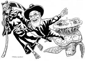 Goodbye Terry Pratchett by caiooliveira